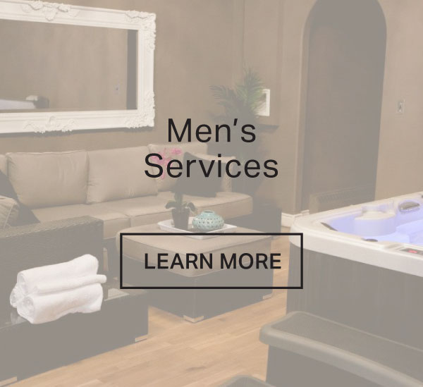 Men's Spa Services